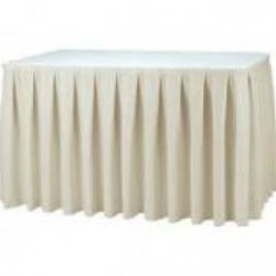 Linen->Table Skirting