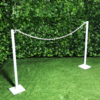 white-painted-barrier-chain-pole-metal-barricade