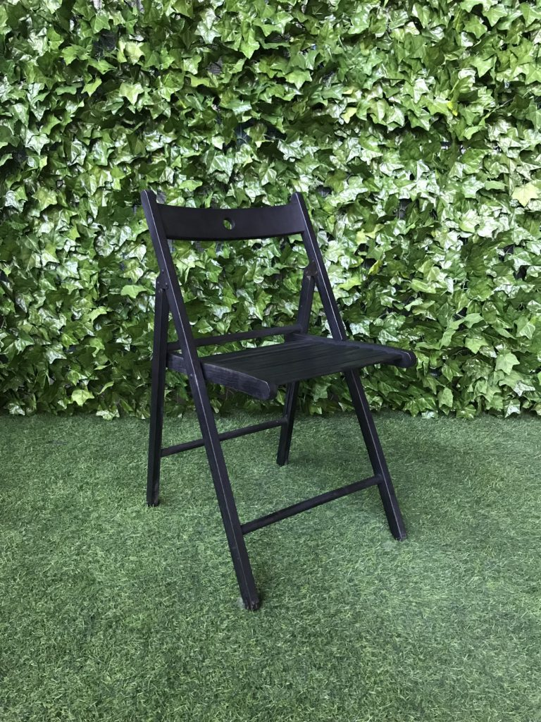 black-painted-timber-folding-chair-with-wooden-frame