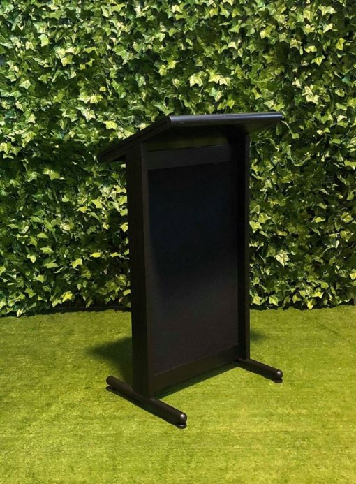 black-free-standing-lectern-speech-podium-display-and-exhibition-equipment