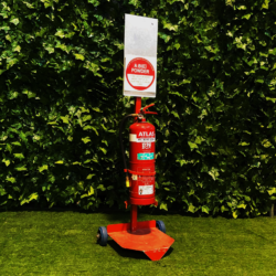 fie-extinguisher-red-metal-saftey-equipment-safe-stand-large-and-small