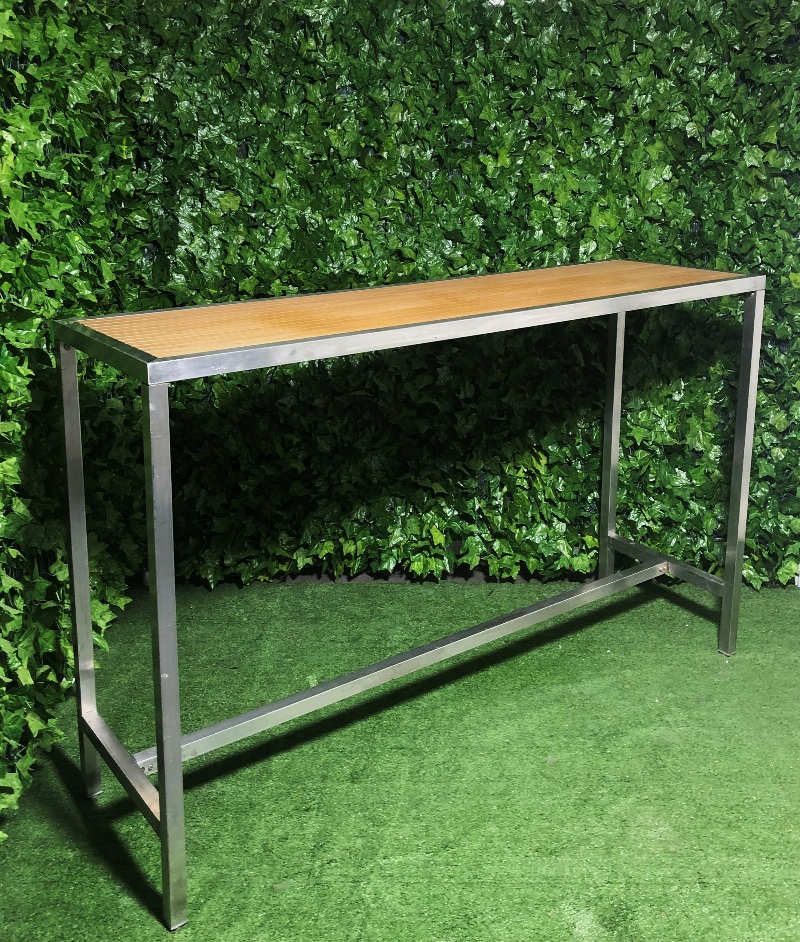 -timber-slats-high-aluminium-long-high-bar-table