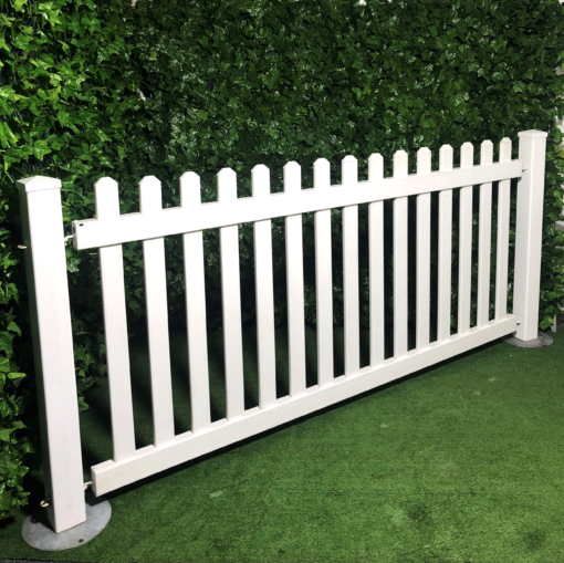 White-picket-fencing-barrier-PVC-plastic-fence