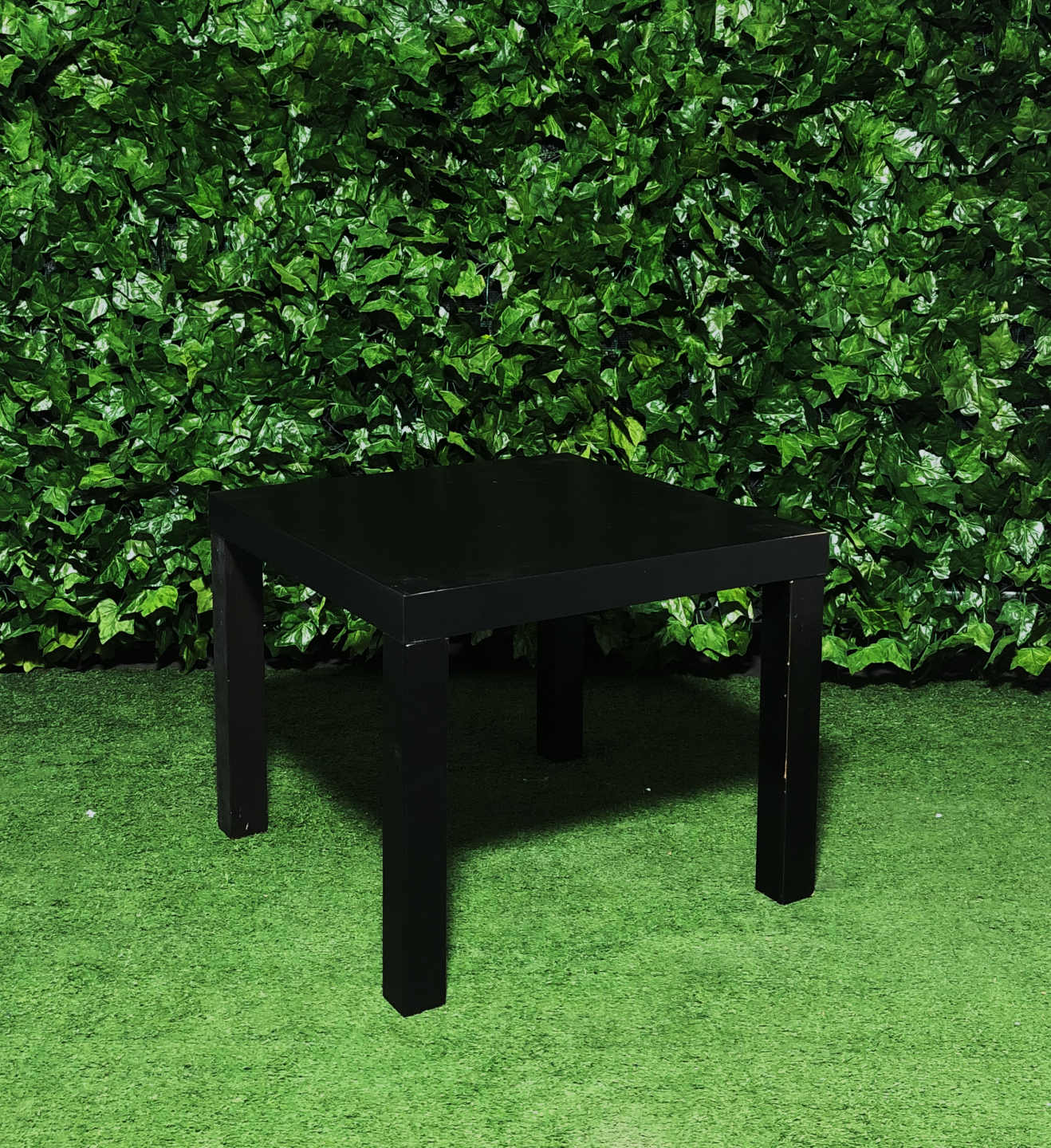 Square Coffee Table Black Atlas Event Party Hire Party Hire Equipment Adelaide Sa