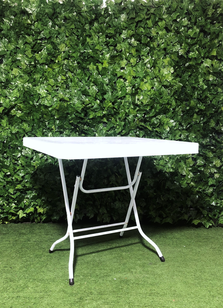 Square-plastic-cafe-table-folding-white