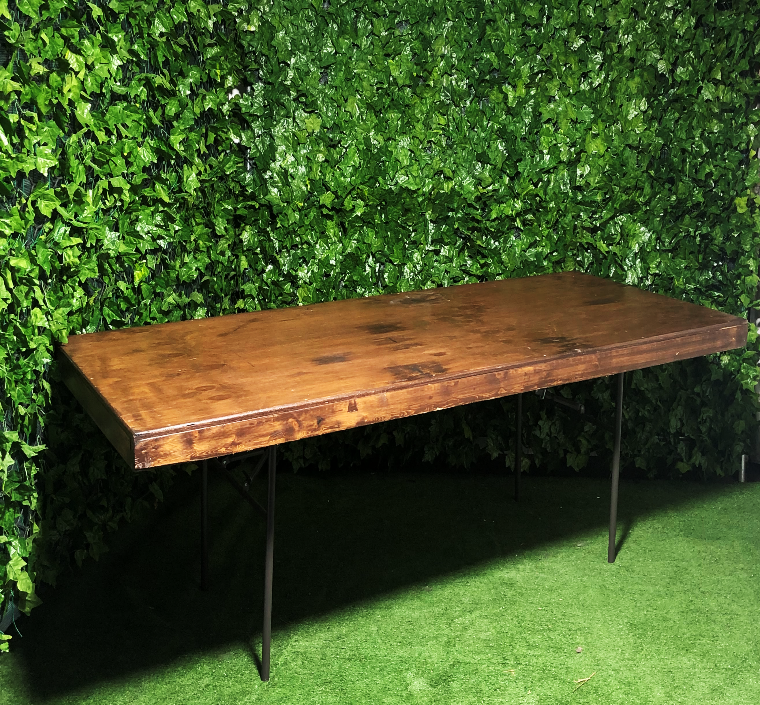 Stained-dark-walnut-timber-trestle-table-2.4m