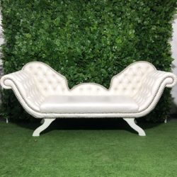 White-barouque-wedding-leather-lounge-couch