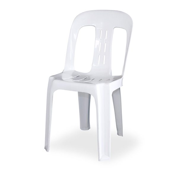 Delicieux White Bistro Chair