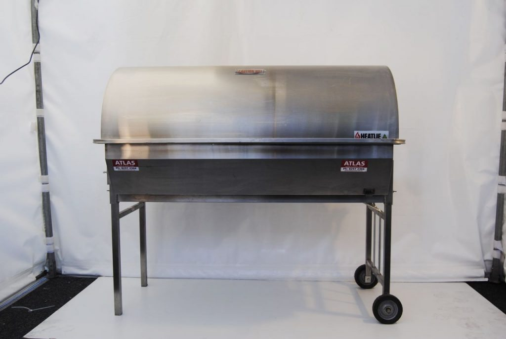 large gas roaster party hire
