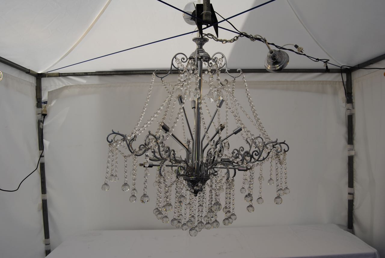 Chandelier 8 arm party hire adelaide atlas event party hire 10 arm chandelier wedding hire junglespirit Gallery