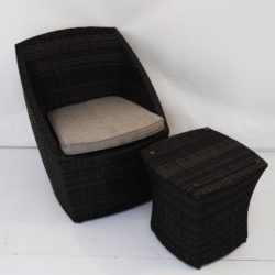 wicker furniture party hire