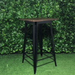 Square-metal-black-stained-wooden-top-tall-tolix-bar-table