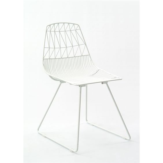 white wire chair hire