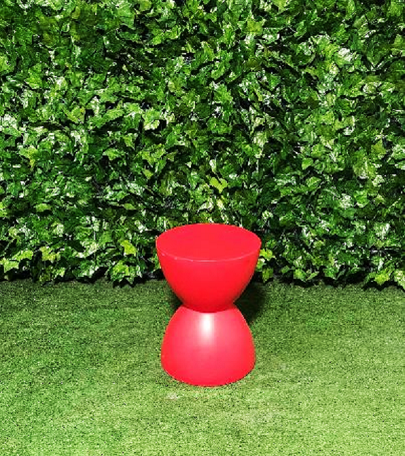 Hour-glass-small-stool-red