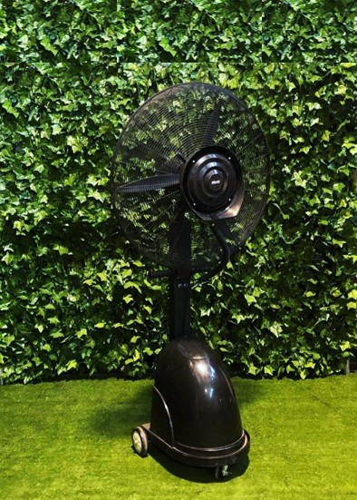 misting-water-spray-fan-black-metal-large-electrical-heating-and-cooling