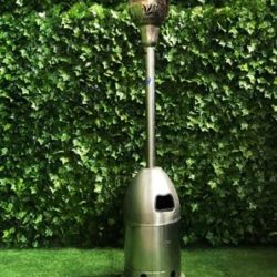 Mushroom-gas-tall-stainless-steel-metal-grey-flame-heater-heating-and-cooling