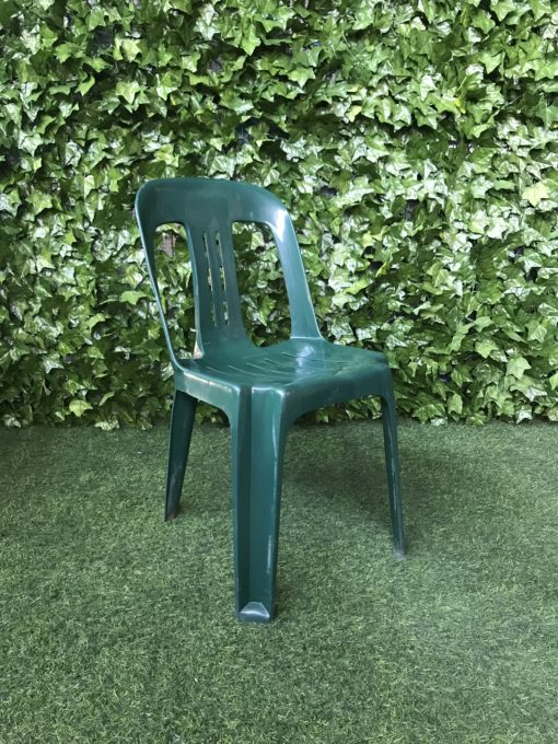 green-high-gloss-plastic-bistro-chair-with-cut-outs-in-the-back-of-the-seat