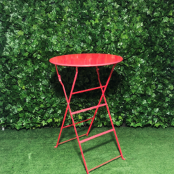 red-metal-botanical-round-tall-bar-table