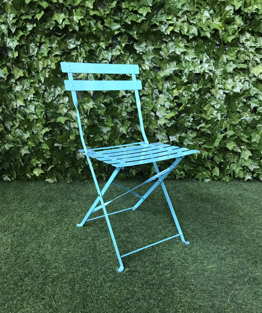 botanical-blue-metal-powder-coated-steel-folding-slatted-outdoor-garden-chair
