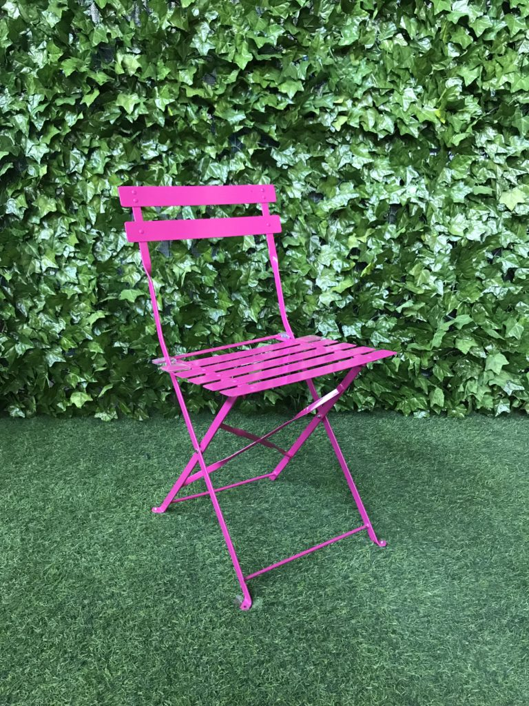 botanical-pink-metal-powder-coated-steel-folding-slatted-outdoor-garden-chair