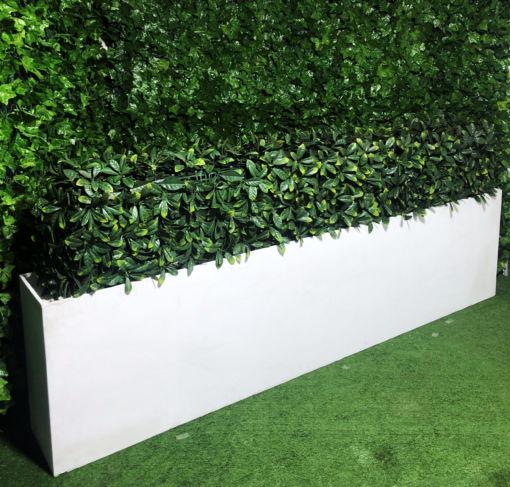 white-wooden-timber-painted-planter-box-with-artificial-green-hedge