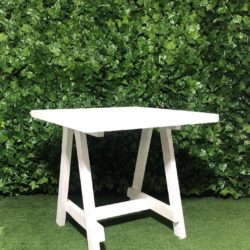 White-wooden-folding-cafe-table-aframe