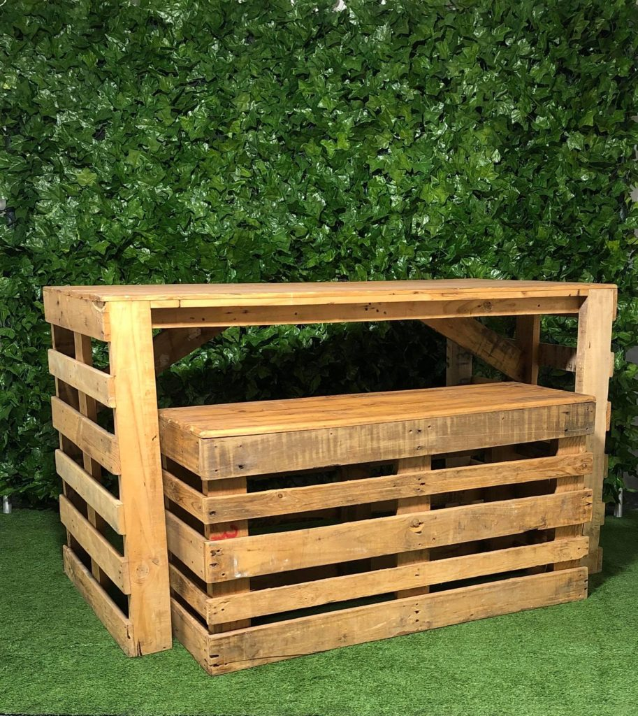 outdoor-Pallet-wooden-bench-table-seat-furniture
