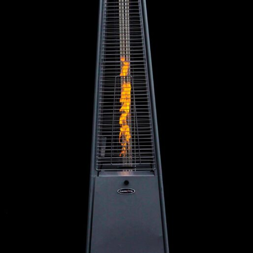 pyramid-heater-stainless-steel-with-flame