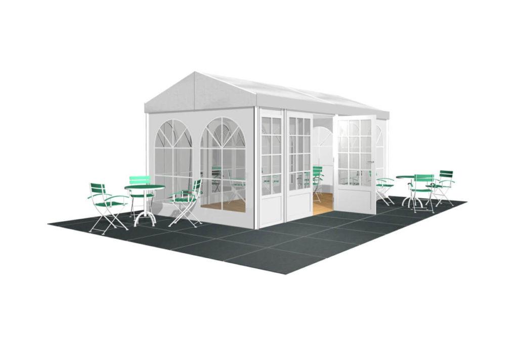 4m Span Pavilions