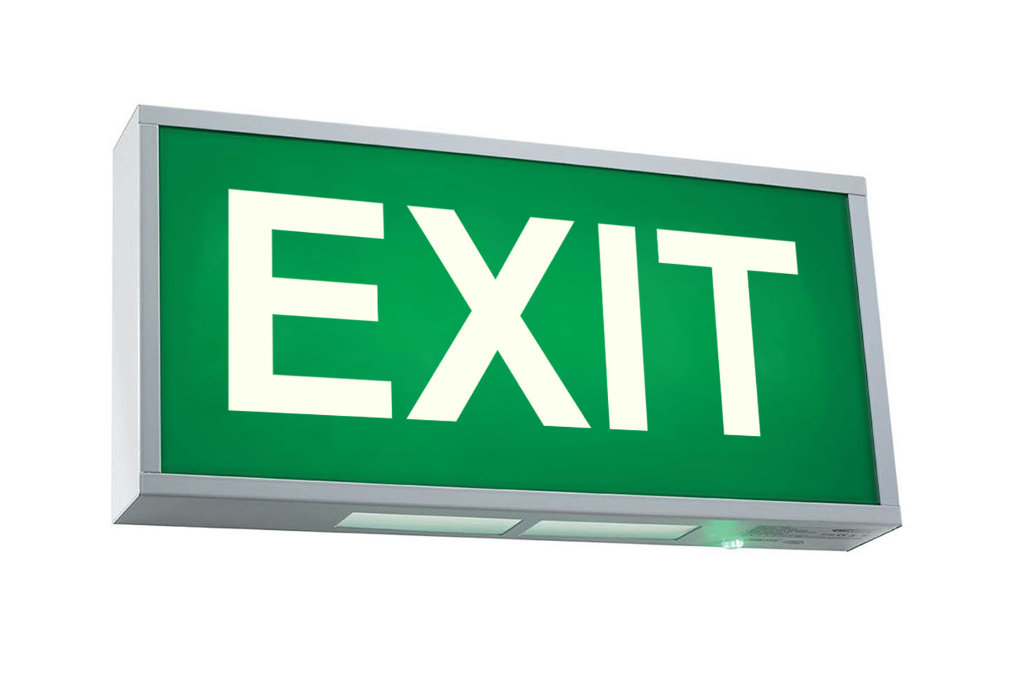 Exit Sign Atlas Event Amp Party Hire Party Hire