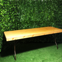 Stained-natural-wooden-2.4m-timber-trestle-table