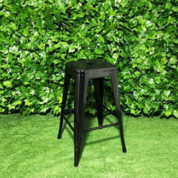 Tall-metal-tolix-stool-black-square