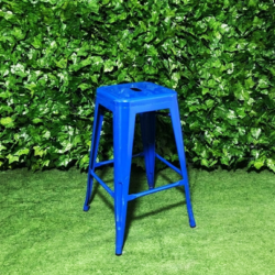 Tall-Metal-Square-Royal-Blue-Tolix-Stool-66cm