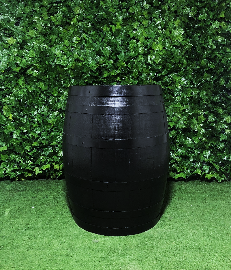 wine-barrel-black-circle-round-bar-table