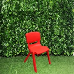 plastic-kid-kiddy-childrens-small-chair-ages-0-7-coloured-red