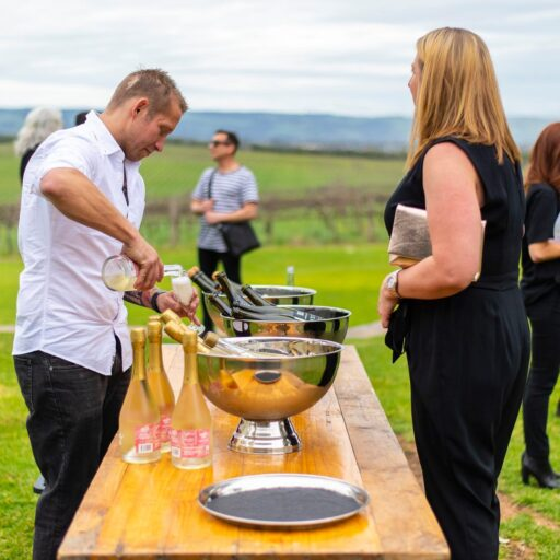 2019 Ladies Long Lunch - Champagne Bowl and Trestle