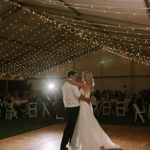 Wedding-Bride-and-Groom-on-6m-x-7.2m-Feast-Watson-Dance-Floor