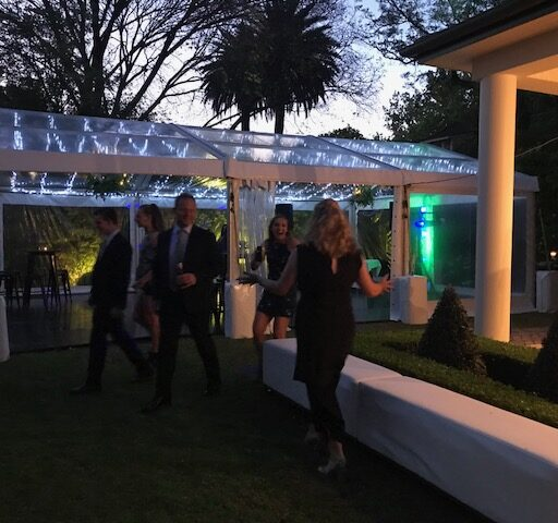 6mx9m-Clear-Pavilion-with-Fairy-Lights-in-a-backyard