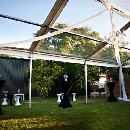 6m-x-9m-Clear-Roof-Pavilion-with-No-Walls-and-Chandelier-lighting