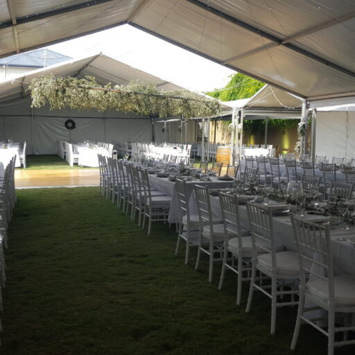 Wedding-Pavilion-with-No-Gable-with-Chiavari-Chairs-and-Table-Settings