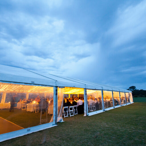 10m-x-30m-Solid-White-Vinyl-Pavilion-with-Clear-Walls-at-Mount-Barker-Polo-Grounds