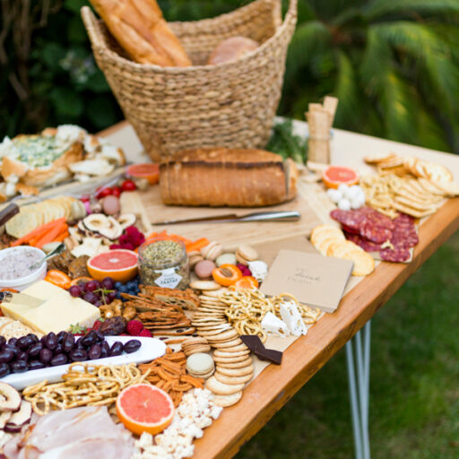 white-hair-pin-legs-and-timber-top-table-with-cheese-bread-and-biscuits-as-a-grazing-tables