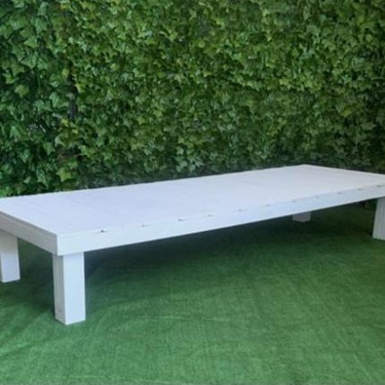 Low Pallet Table - White