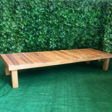 Low Pallett Table - Rustic