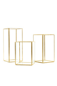 gold-frame-rectangular-glass-panel-candle-box-10cm-x-10cm-x-15cmH-and-18cmH-and-22cmH