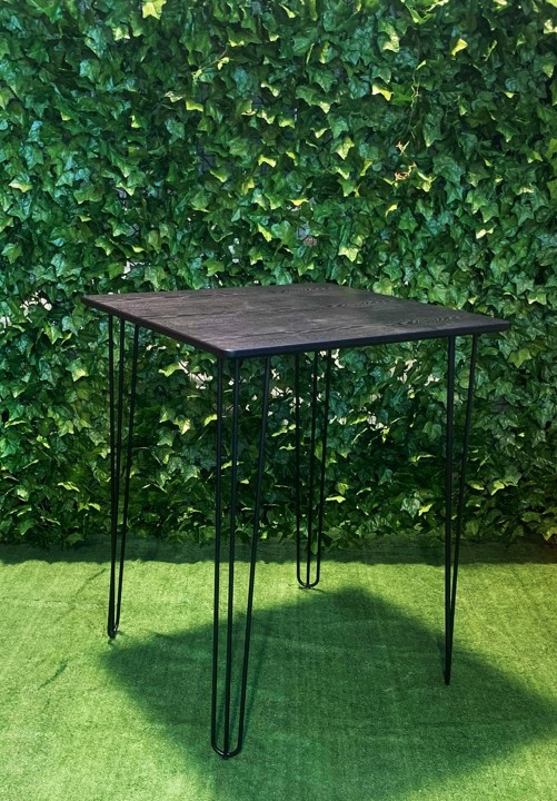 black-metal-hair-pin-legs-with-square-black-wood-grain-look-80cm-by-80cm-top-medium-bar-table