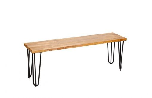 black_hairpin_bench_seat_with_wooden_top